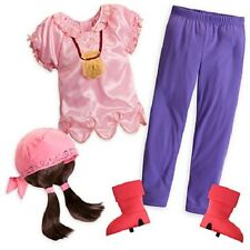 IZZY COSTUME~JaKe and the NeVeR LaNd PiRaTeS~Girls 2/3-7/8~NWT~Disney Store~2013