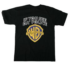 New Tshirt T-Shirt Tees Black If You See Da Police Warn A Brother