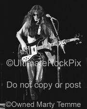 GEDDY LEE PHOTO RUSH 1980 RICKENBACKER Black and White by Marty Temme 1 Prog