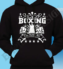 Boxer Boxing Boxers Fighter Gym Tyson The Noble Art Mens Hoody Hoodie T-Shirt