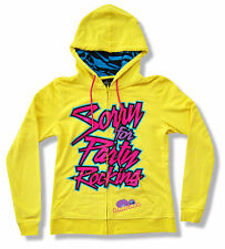 "LMFAO ""SFPR"" YELLOW JR ZIP HOODIE SWEATSHIRT SORRY FOR PARTY ROCKIN NEW OFFICIAL"