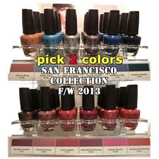 LIMITED - OPI - SAN FRANCISCO Collection F/W 2013 - Pick 2 Colors - SHIP IN 24H