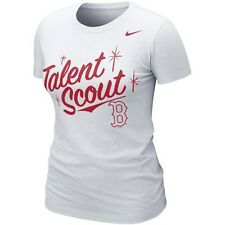 Nike Women's Boston Red Sox Talent Scout Shirt Slim Fit NWT