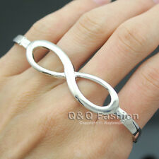 Chic Celebrity Infinite Infinity Hand Palm Four Finger Ring Costume Rock Punk