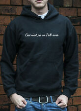 Ceci N'est pa un Pull-over René Magritte Art Inspired retro Jumper Hoodie N0014