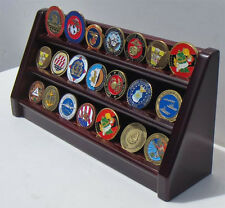 3 Tiers Challenge Coin Display Holder Rack Stand, Alternative to Display Case