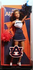 AUBURN UNIVERSITY BARBIE DOLL Cheerleader Tigers SEC Football Collectible NEW