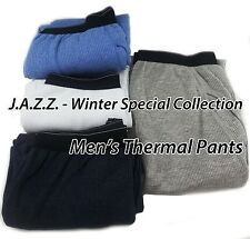 New Mens Thermal Underwear Pants Winter Skiing Outdoor Activities Waffle Knit