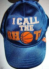 NWT Gymboree Slam Dunk 12 18 24 Hat I Call The Shots Cap Basketball Baby Blue
