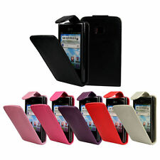 FLIP PU LEATHER FLIP CASE COVER FOR THE LG OPTIMUS L3 E400 !!