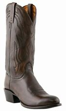 LUCCHESE Since 1883 M1023.R4 ANTIQUE WALNUT BROWN LONE STAR MENS COWBOY BOOTS