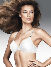 MAIDENFORM WEIGHTLESS COMFORT FULL COVERAGE BRA #9621 WHITE NWT