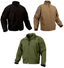 soft shell jacket covert ops tactical lightweight coyote or black rothco 5262