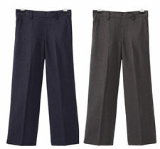 67115 Boys School Navy and Grey Trousers, 4-10 years