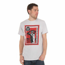 Rage Against The Machine - Postage Stamp T-Shirt Silver