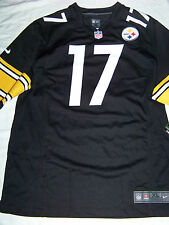 Nike Men's Pittsburgh Steelers #17 Mike Wallace Jersey NWT