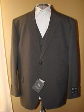 MSJ20  MEN'S 3 PIECE SUIT - Frenzi Uomo - Grey -  Regular