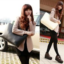 New Fashion Women Lady OL Tote Sweet Synthetic Leather Handbag Shoulder Bag EA77