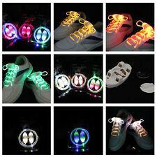 Shoestring Flash Glow Party KTV Bar Disco Hot Stunning LED Light Up Shoelaces