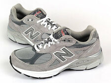 New Balance W990GL3 D Grey & White Suede Lifestyle Top Running Shoes 2013 NB