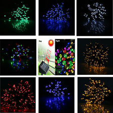 NEW Solar string lights 50/100/200LED fairy light for Christmas outdoor gardern
