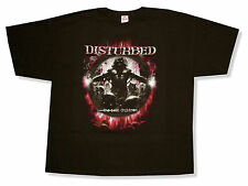 """DISTURBED """"LOST CHILDREN"""" ALBUM COVER BLACK T-SHIRT NEW OFFICIAL ADULT BAND"""
