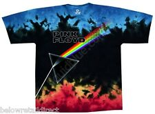 NEW PINK FLOYD US AND THEM TIE DYE T-SHIRT SIZE MEDIUM-M LARGE-L EXTRA LARGE-XL
