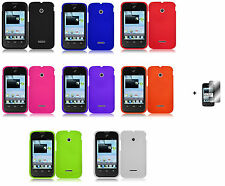 Hard Case Phone Cover for T-Mobile Huawei Prism 2 II U8686+Free Screen Protector