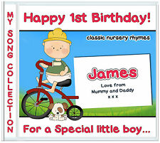 40 Classic Nursery Rhymes - 1st Birthday Gifts for Baby Boys First Birthday Gift