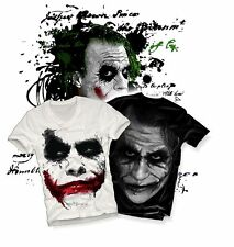 t-shirt JOKER 'Shadow' Heath Ledger BATMAN  v-neck longsleeve