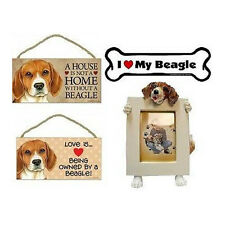 BEAGLE House is Not Home & Love Is Wooden Dog Sign / Car Magnet / Picture Frame