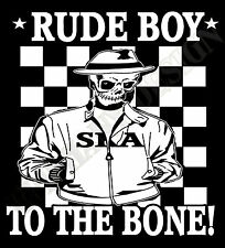 Rude Boy Hoody Skinhead Reggea Ska 2 tone The Specials Madness Hoodie Mod Unique