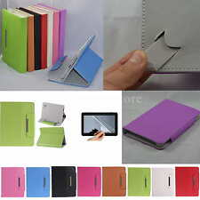 "Colorful Flip PU Leather Case+Free Film For 9"" ZTO 9-Inch Android 4.1 Tablet PC"