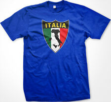 Italia Italian Crest Italy Flag National World Cup Soccer Olympics Mens T-Shirt