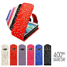 New Premium Luxury Sparkling Flip Case Cover For iPhone 5 5S 5G & New iPhone SE