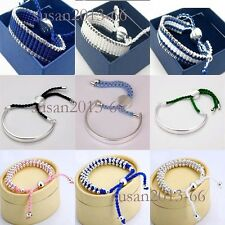 promotions sale fashion birthday/XMAS gift solid 925 silver bracelet/bangle+box