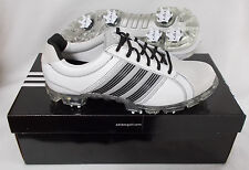 New Adidas Adicross Tour Golf Shoes - Running White/Aluminum/Black - Select Size