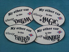 "DCL ~ Disney Cruise Lines ""My other car is"" Bumper Sticker ~ Show Your Love!"