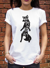 What Does The Fox Say? Tshirt Ylvis Funny Music Lyrics Song T-shirt Gift N149