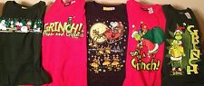 Christmas Doubler T-Shirts DR. SEUSS-GRINCH--SNOOPY-WOODSTOCK-PEANUTS GANG