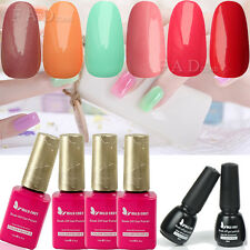 Nail Art Soak Off UV Gel Polish 4 Colors Decoration Gift Top Coat & Primer Tips