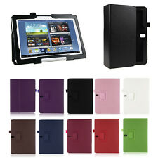 PU Leather Folio Case Cover Stand For Samsung Galaxy Note 10.1 2014 Edition - UK