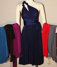 Eri'N Water Sexy Silky Convertible Wrap Dress One Size Fits Most