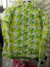 FXR Womens Fresh Jacket, Green Houndstooth, 14230.700 NEW w/Tags (Gorgeous Jkt!)