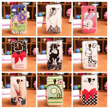 CUTE CARTOON Hard Protection Case Back Skin Cover For Samsung i8160 Galaxy Ace 2