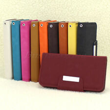 Hot Sale Flip Leather Matte Magnetic Stand Wallet Case Cover For iPhone 4G 4S