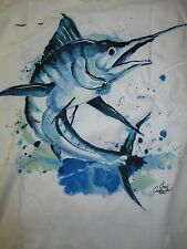New Authentic Costa Del Mar Long Sleeve TShirts with Jose Canales Marlin Logo
