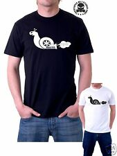 turbo boost snail  Mens T-SHIRT car funny t-shirt turbo snail car funny t-shirt