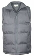 Kids  Heavy Padded Lined Quilted Gilet Sleeveless  Body warmer Jacket