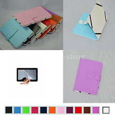 "Colorful Folio Leather Case+Free Film For 8"" Nextbook Premiun8SE Android 4.0 Tab"